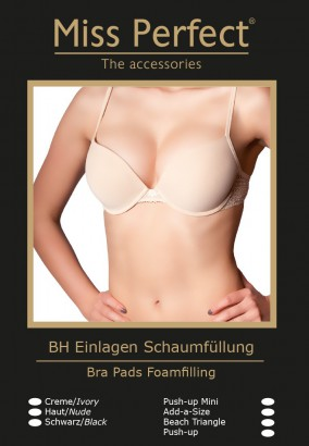 Miss Perfect Push-up Mini BH Einalge mit Schaumfüllung – Bild 5