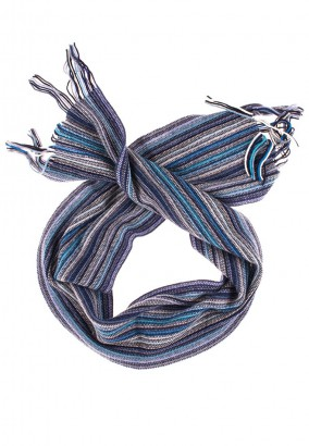 William Lockie Scarf striped Lambswool